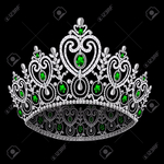 ������ 14237822-illustration-corona-diadem-feminine-wedding-with-emerald-on-black-background-Stock-Vector (700x700, 331Kb)