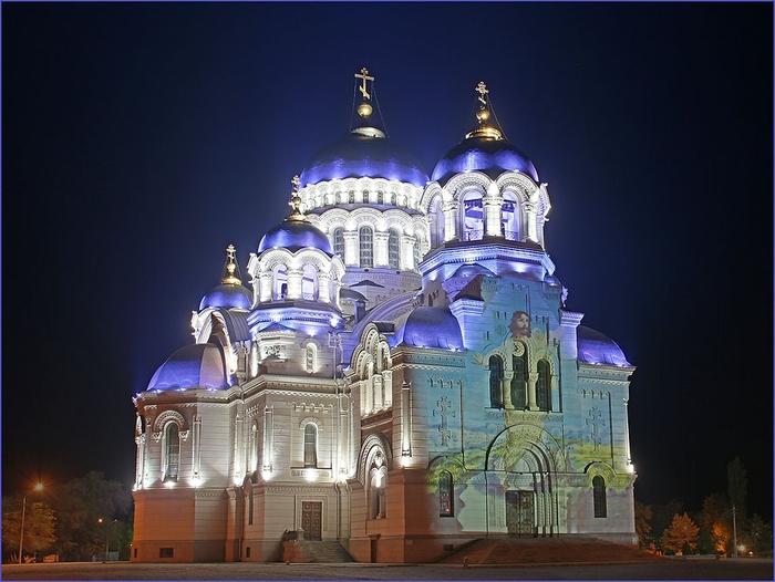 Святовознесенский Кафедральный Войсковой Собор Новочеркасск (700x526, 225Kb)