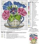 Превью схема вышивки цветы (5) (623x700, 372Kb)