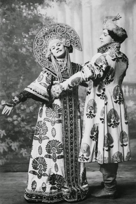 Russian ballet of the XX century - Anna Pavlova and Mikhail Mordkin (469x700, 129Kb)