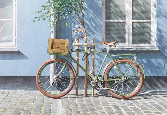 3. Велосипед в Копенгагене (700x483, 371Kb)