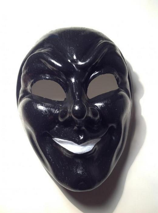 Как сделать карнавальную венецианскую маску Джокер (1) (521x700, 278Kb)