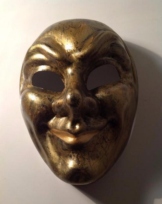 Как сделать карнавальную венецианскую маску Джокер (11) (559x700, 254Kb)