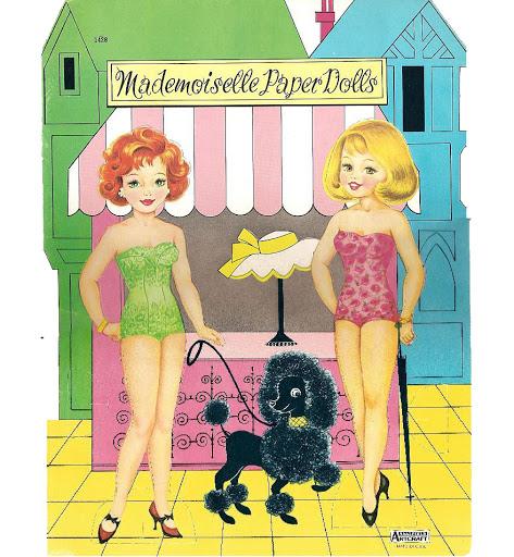 Mademoiselle (473x512, 268Kb)