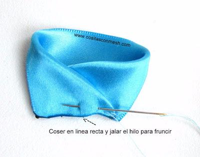 Бантики из лент - аксессуары для волос своими руками (6) (400x313, 103Kb)