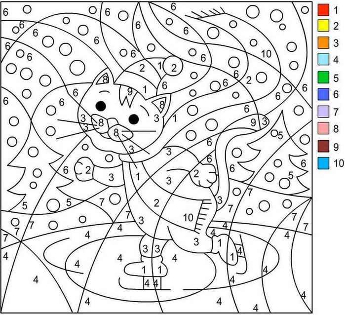 Раскраски для детей девочек 9 лет