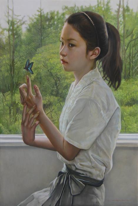 小木曽�(Ogiso Makato)-www.kaifineart.com-13 (469x700, 321Kb)