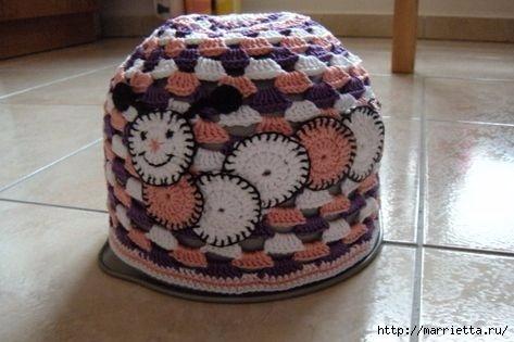 Гусеница на шапочке. Аппликация на детской одежде (9) (473x315, 88Kb)