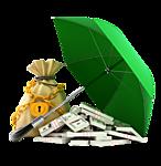 деньги зонтик (146x150, 30Kb)