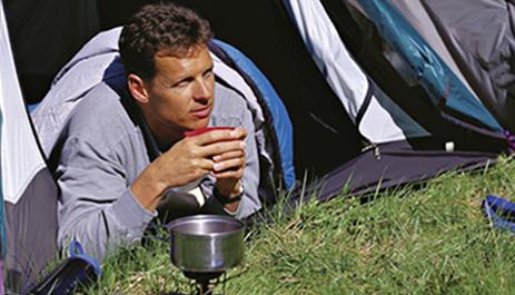 Газовая плита – неотъемлемый атрибут туриста.