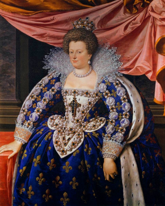 5229398_Maria_deMedici_as_Regent_of_France_aged_38_in_1611__Frans_Pourbus_Jnr__Uffizi_Florence (562x700, 349Kb)