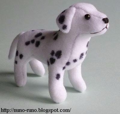 Шьем собачку - Далматина. Выкройка и мк (1) (400x380, 62Kb)