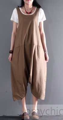 Khaki_linen_strap_pants_stylish_jumpsuits1 (209x397, 52Kb)