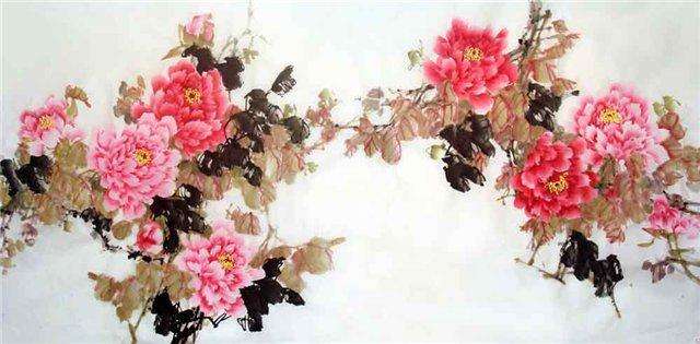 цветы в кинайской живописи 30а (640x315, 182Kb)