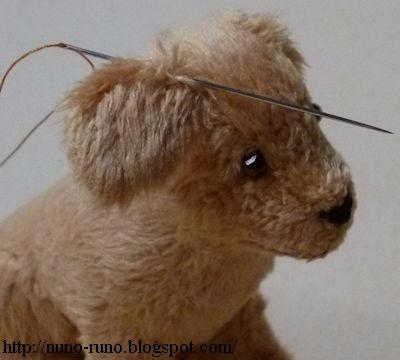 Голден Ретривер. Шьем собачку из меха (11) (400x360, 87Kb)