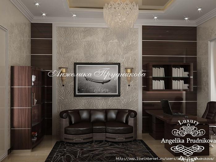 Дизайн квартиры в стиле неоклассика в ЖК Садовые кварталы /5994043_08_intererkabinetavstileneoklassika (700x524, 244Kb)