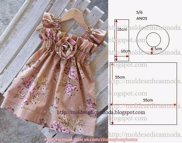 Платья для маленьких принцесс (4) (611x479, 235Kb)
