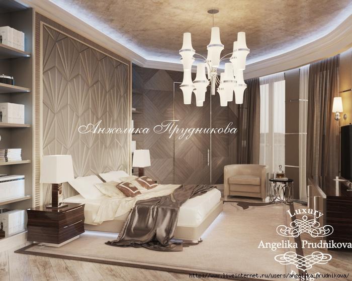 Дизайн интерьера пентхауза в стиле модерн в ЖК Садовые кварталы /5994043_1spalnya (700x560, 241Kb)