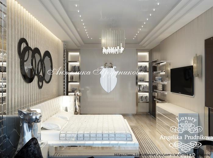 Дизайн квартиры в стиле Ар-деко в ЖК Садовые кварталы/5994043_11_spalnya (700x518, 215Kb)