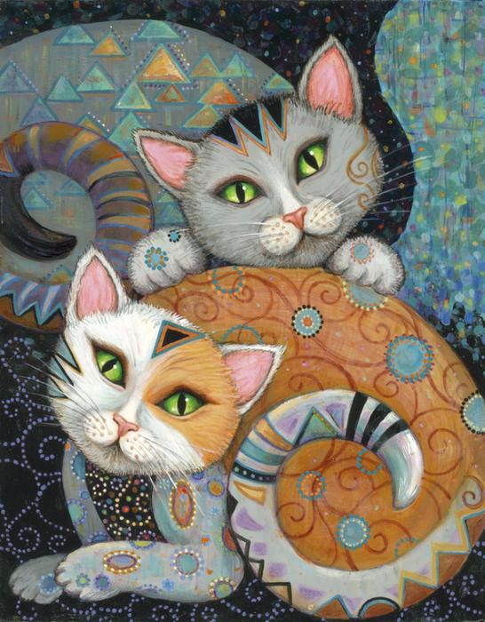 Kleo+Kat+Kuddlekats (546x700, 574Kb)