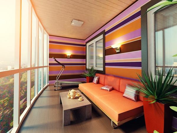 Балкон с фотографиями в новом обличии как дополнительная ....