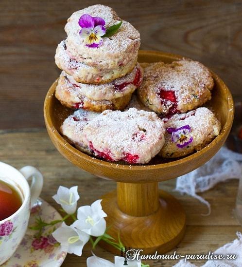 Клубничное печенье с базиликом. Рецепт (3) (498x548, 268Kb)