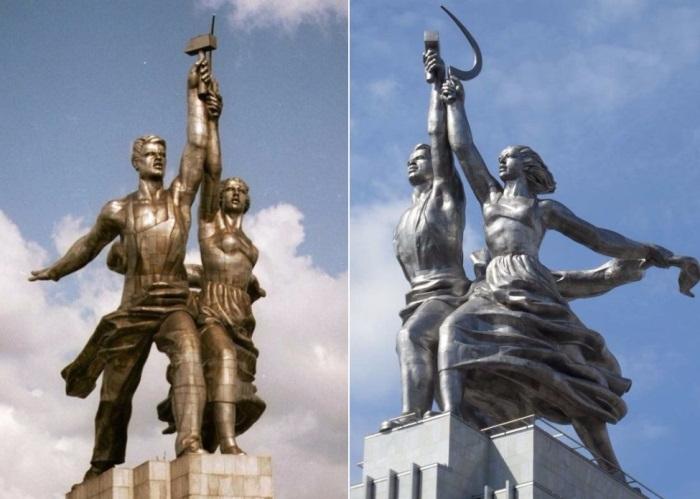 Worker-and-kolkhoz-woman-1 (700x499, 251Kb)