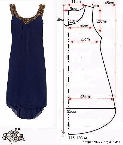 Сшить платье по фигуре из трикотажа фото 235