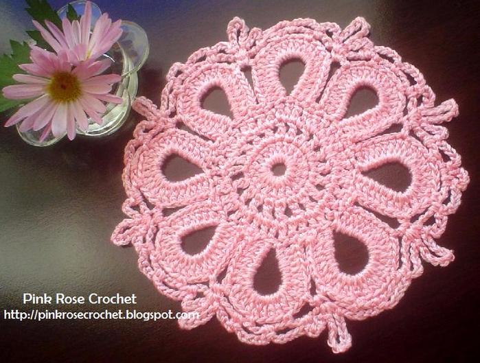 Centrinho Rosa Croche.c - PRose Crochet (700x529, 465Kb)