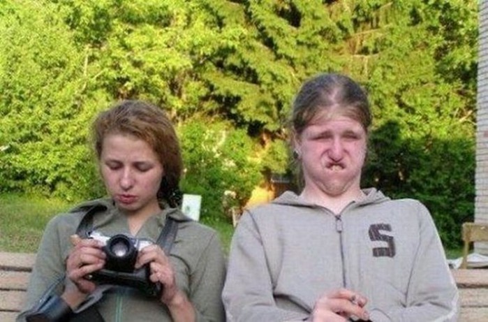 Смешные женщины   смешные фотографии (25 фото)