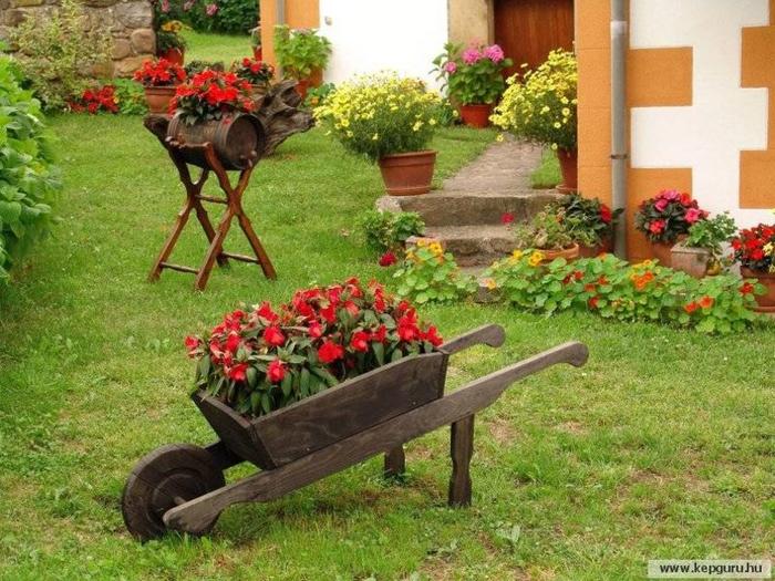 Сад идеи для сада клумбы своими руками фото