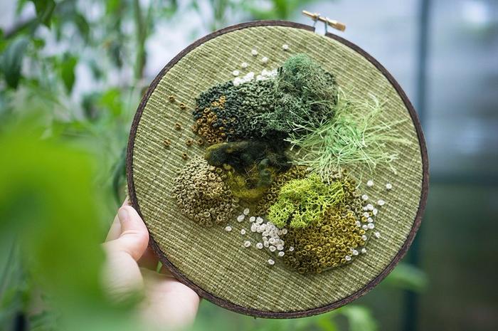 декоративный мох Эмма Мэттсон 6 (700x465, 382Kb)