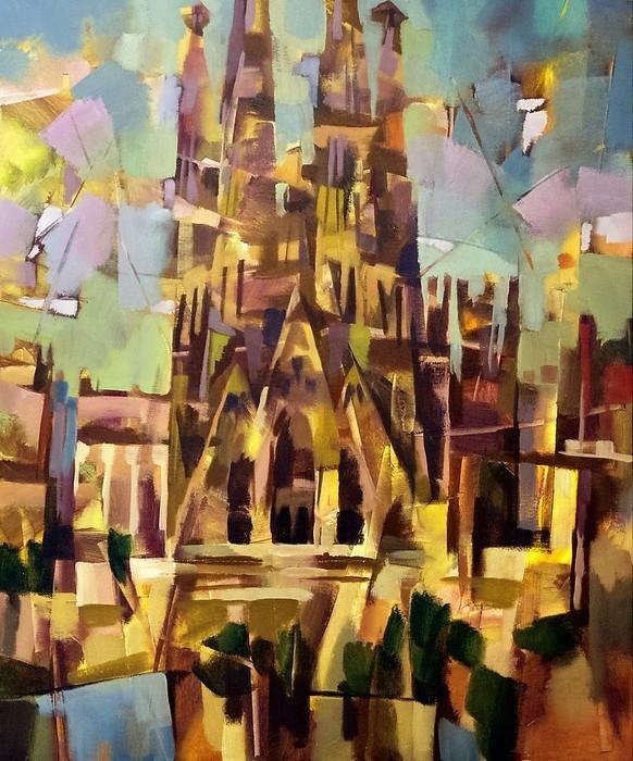 Sagrada Familia  BARCELONA (582x700, 145Kb)