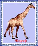 ������ жираф (578x700, 358Kb)