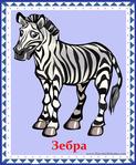 ������ зебра (578x700, 372Kb)
