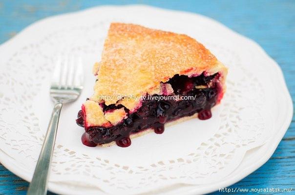 Пирог черной смородиной рецепт с