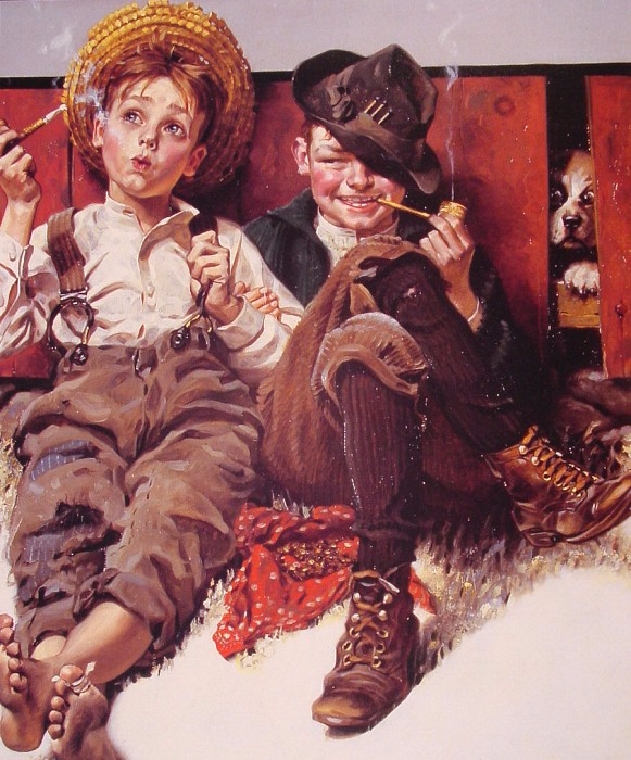 Norman Rockwell (������ �������)4 (581x700, 447Kb)
