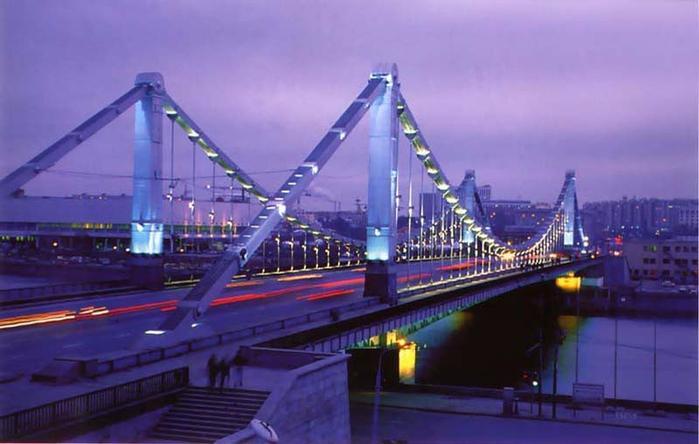 Крымский мост в Москве (700x444, 270Kb)