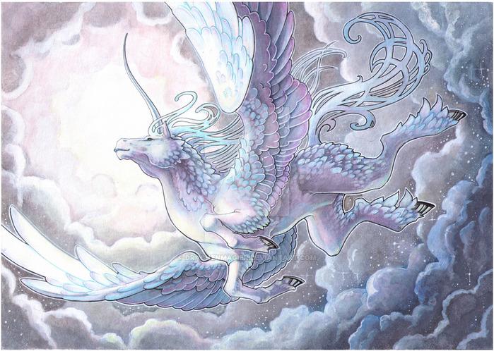 commission___soaring_by_drachenmagier-d4g9yaz (700x498, 174Kb)
