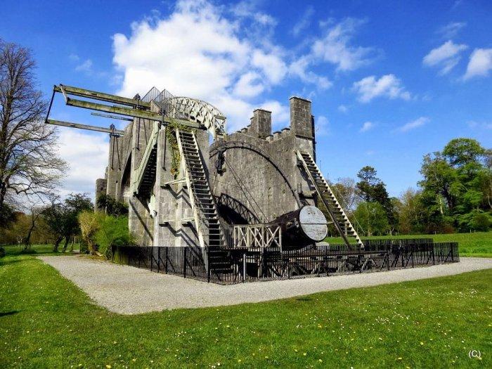 телескоп Уильяма Парсонса в ирландии 1 (700x525, 386Kb)