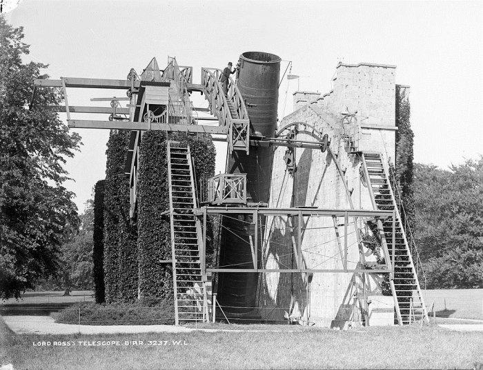 телескоп Уильяма Парсонса в ирландии 3 (700x537, 301Kb)