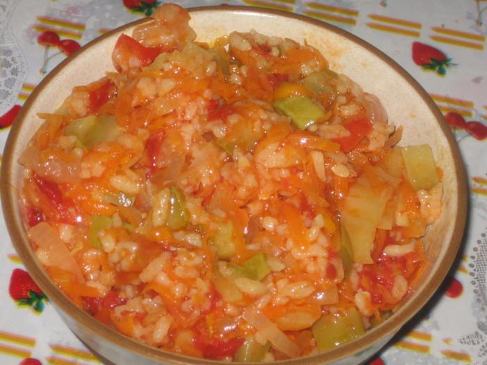Салат с рисом на зиму рецепты с фото пошагово