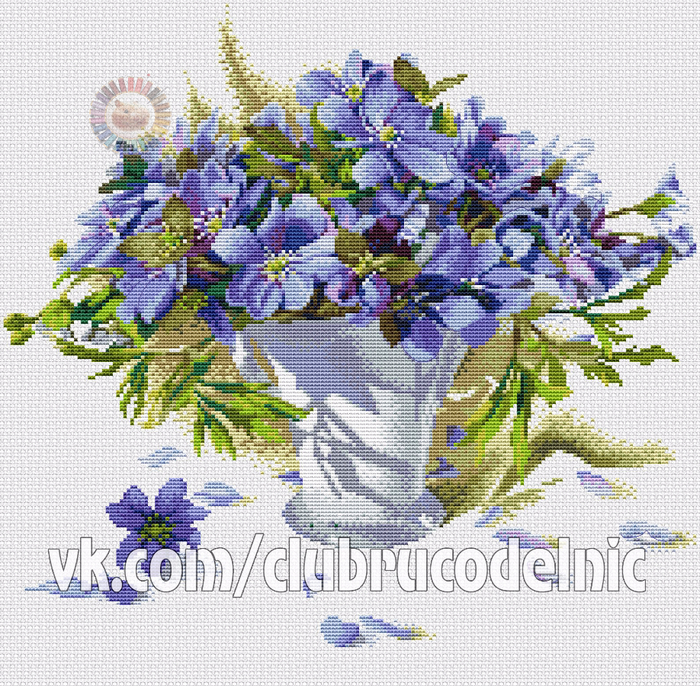 Первоцветы (700x686, 750Kb)