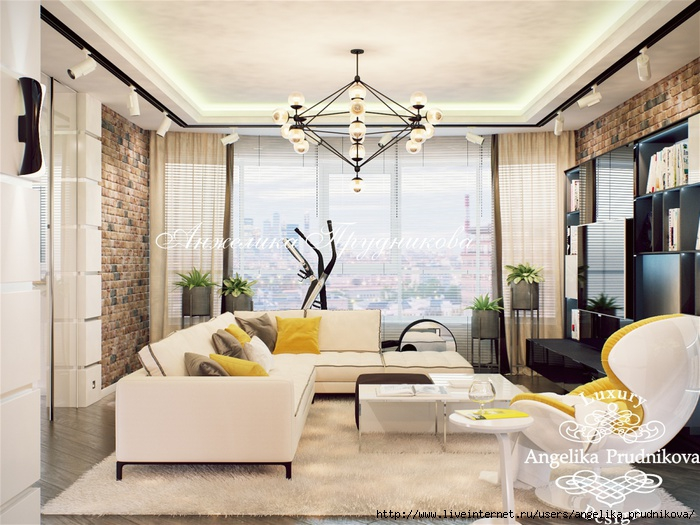 Дизайн квартиры в стиле лофт в ЖК Эмиральд/5994043_5gostinaya (700x525, 248Kb)