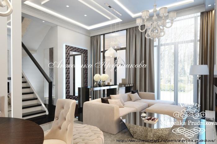 Дизайн интерьера квартиры в стиле Ар-деко на Воробьёвых горах/5994043_2gostinaya (700x466, 199Kb)