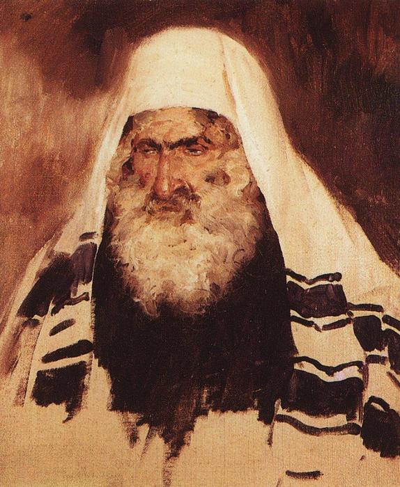 Старый еврей (574x700, 500Kb)