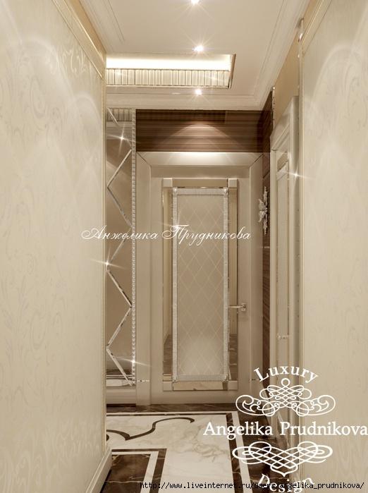 Интерьер квартиры в стиле Ар-деко на улице Лодочная /5994043_19_koridor23412 (522x700, 184Kb)