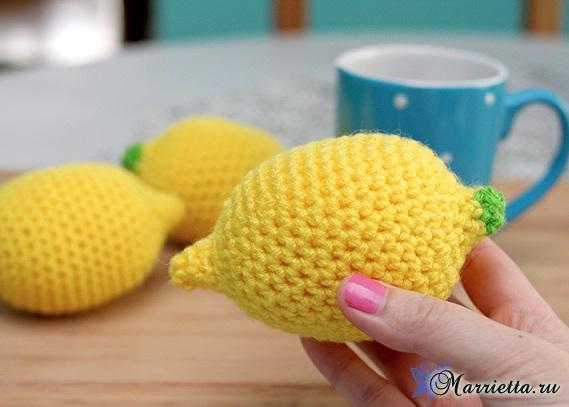 Вяжем лимончик