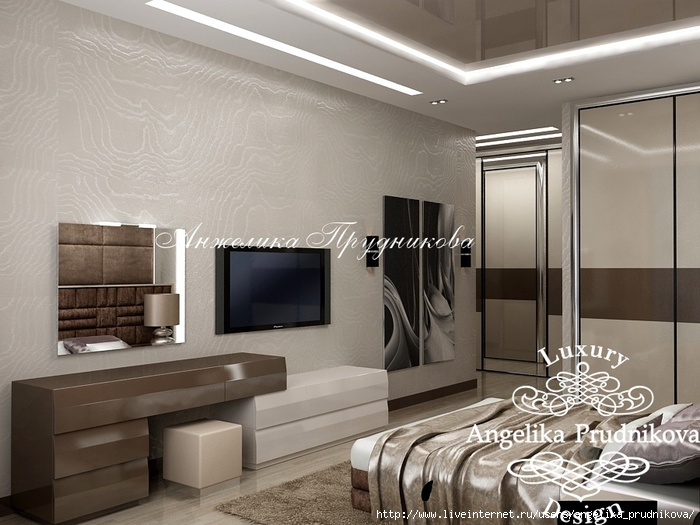 Интерьер квартиры в стиле модерн на Мосфильмовской /5994043_14_spalnya (700x525, 212Kb)