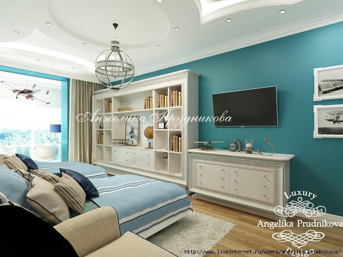 Интерьер квартиры в классическом стиле в ЖК «Английский квартал» /5994043_19_detskayadlyadvukhmalchikov (700x525, 227Kb)